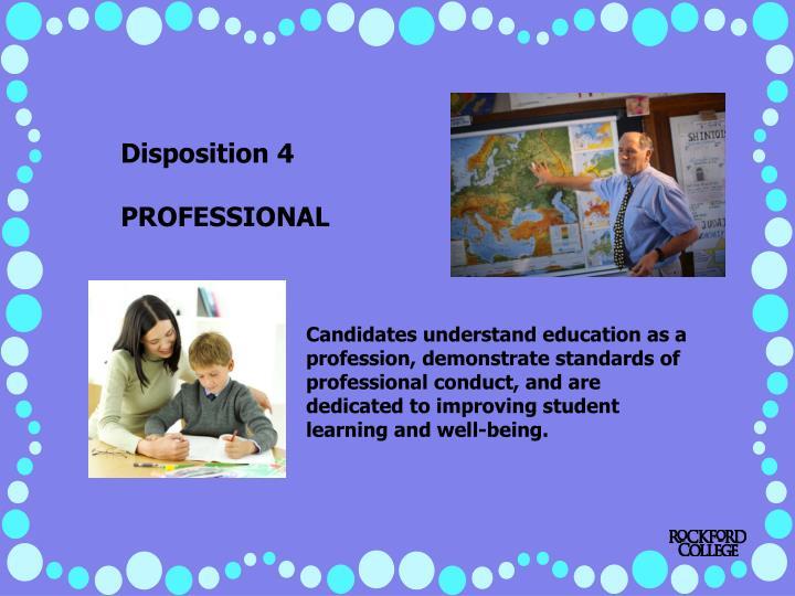 Disposition 4