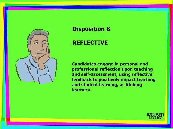 Disposition 8