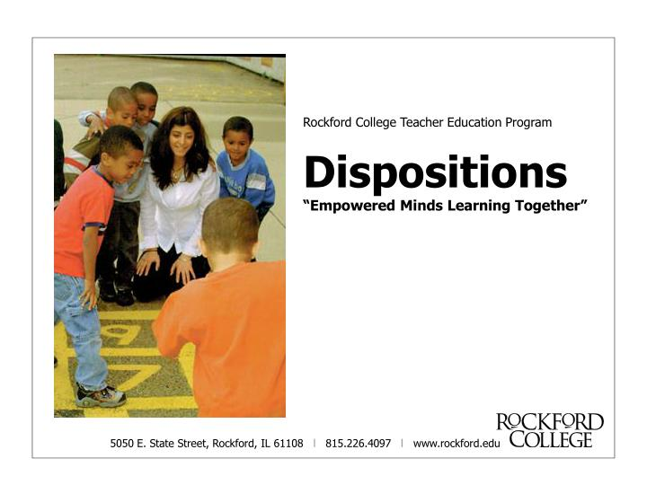 Rockford College Teacher Education Program