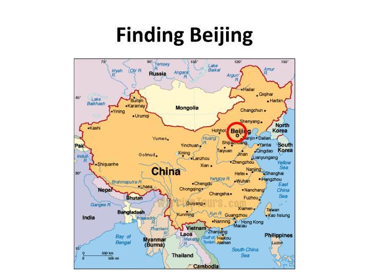 Finding Beijing