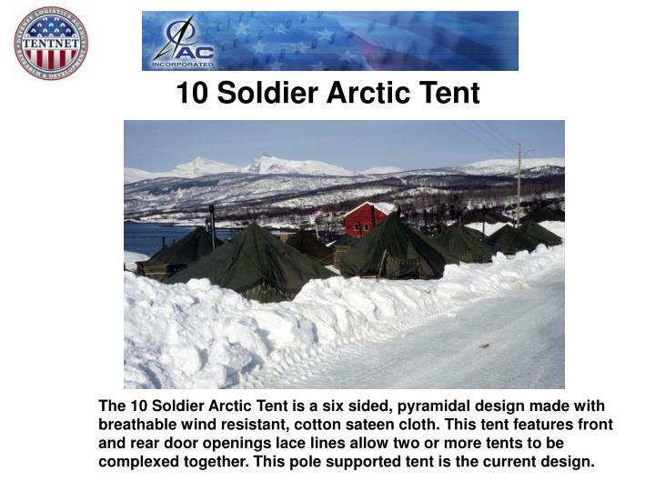 10 Soldier Arctic Tent
