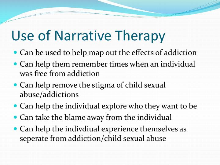 the multicultural effectiveness of narrative therapy Another strength of the model is that many outcome studies show effectiveness multicultural counseling solution focused therapy and narrative therapy.