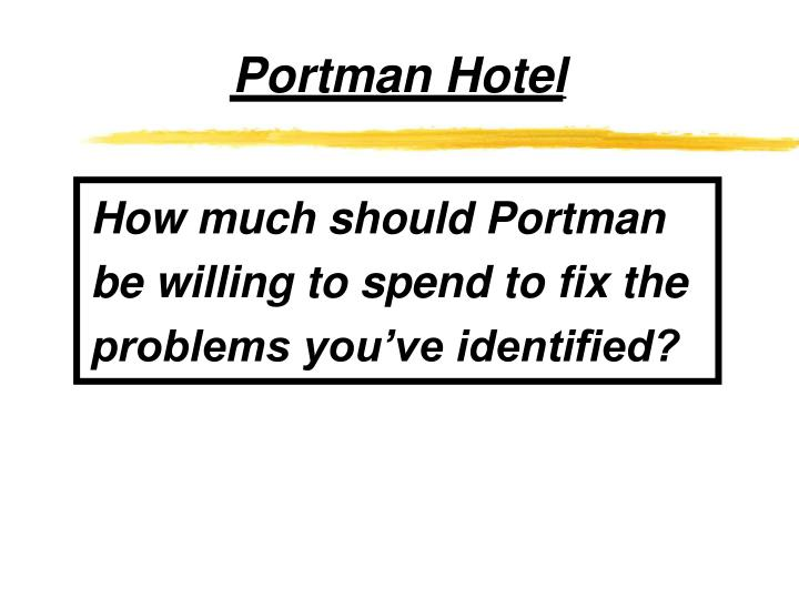 Portman Hotel