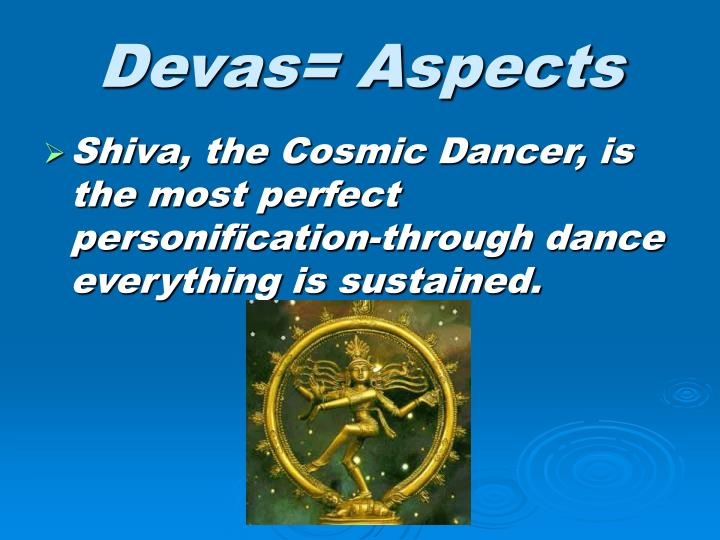 Devas= Aspects