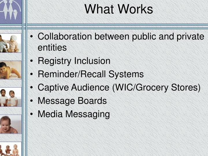 What Works
