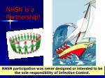 nhsn is a partnership