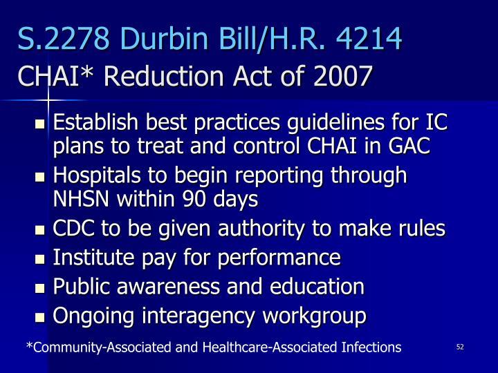 S.2278 Durbin Bill/H.R. 4214