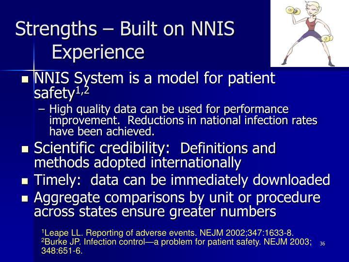 Strengths – Built on NNIS