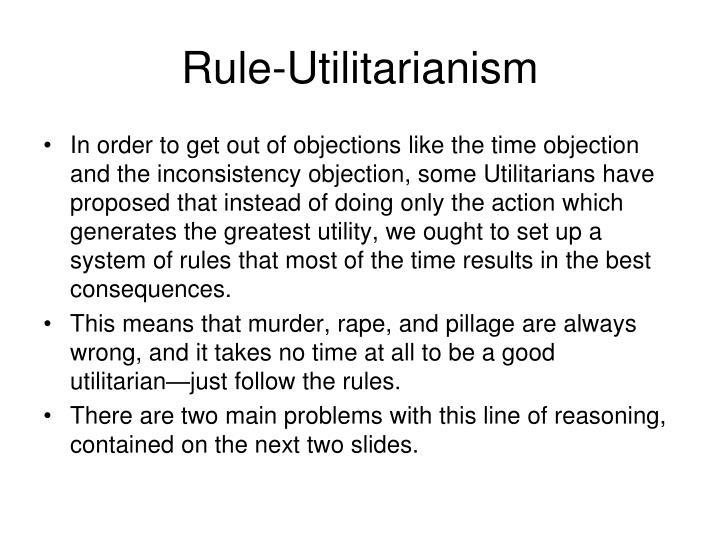 Rule-Utilitarianism