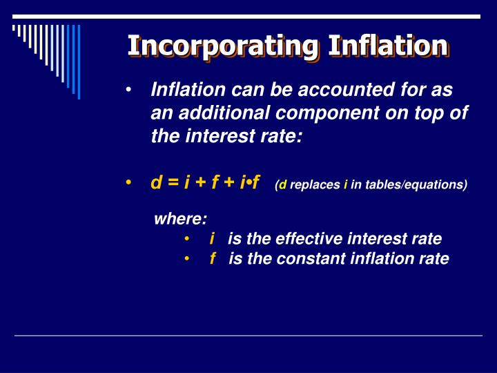 Incorporating Inflation