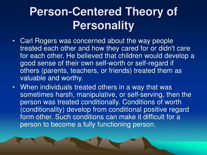 Critical summary of carl rogers