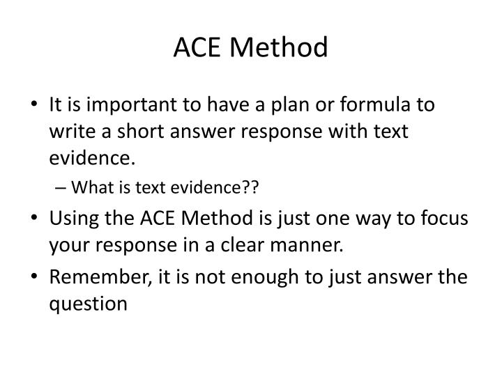 PPT - Short Answer Responses PowerPoint Presentation - ID:6797203