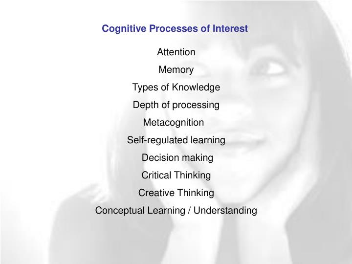 Cognitive Processes of Interest
