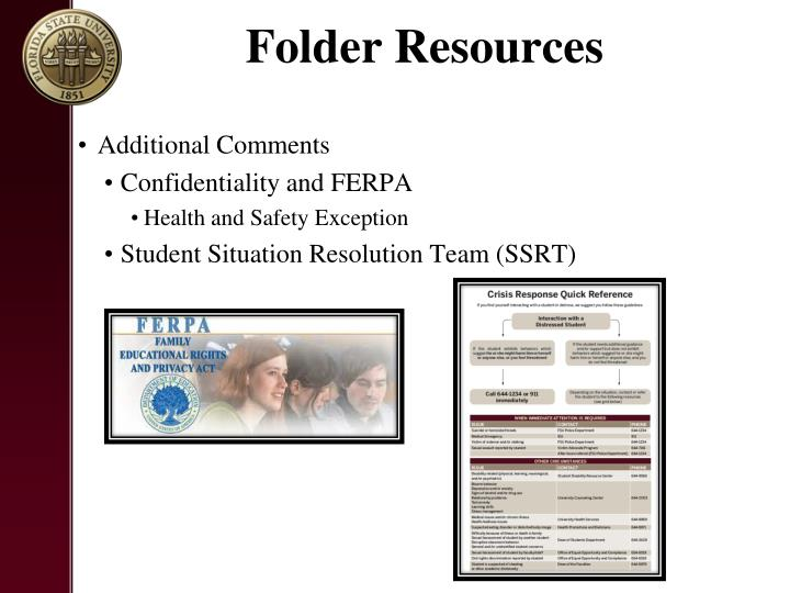 Folder Resources