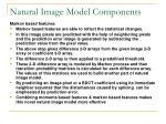 natural image model components2