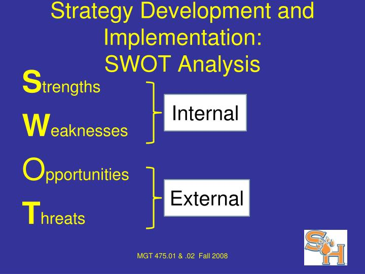 Strategy Development and Implementation: