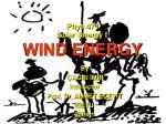 phys 471 solar energy i wind energy