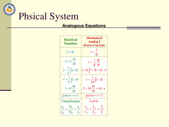Phsical System