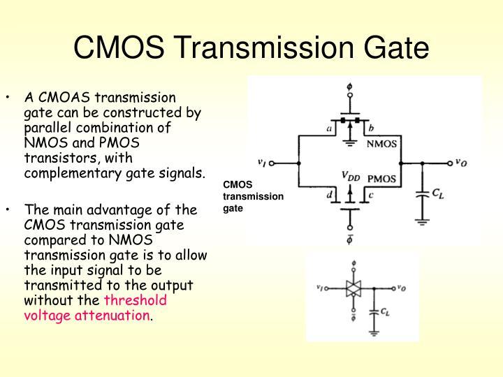 CMOS Transmission Gate