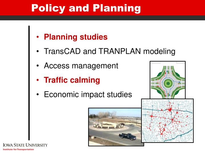 Policy and Planning