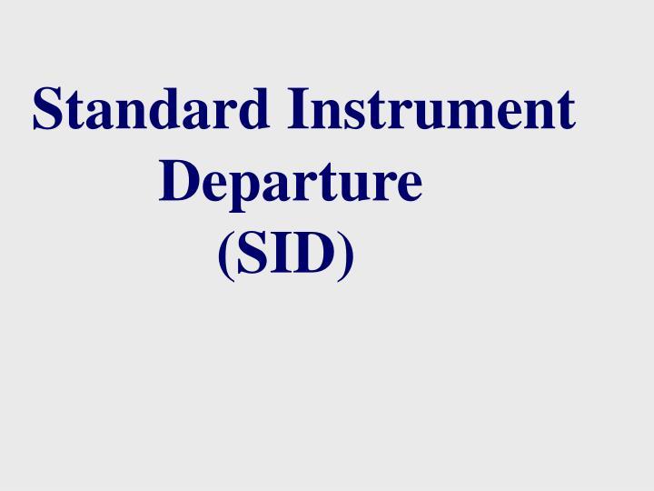 Standard Instrument