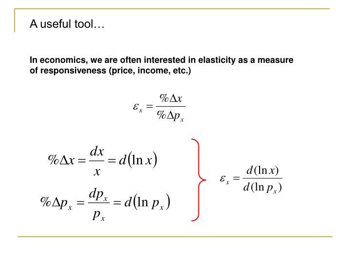 A useful tool…