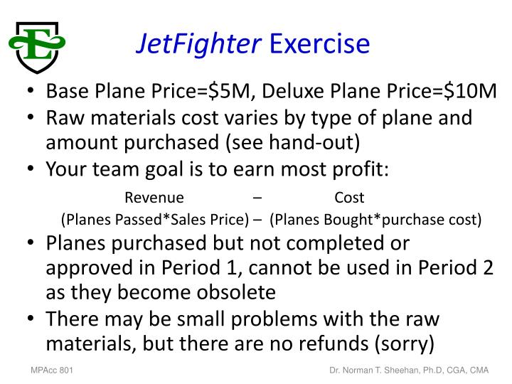 Jetfighter exercise1