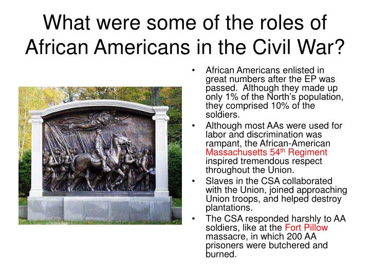 the civil war and the role of the federal government The civil war trust's webpage explaining the top 10 things kids should know about the civil war  played an ongoing role in american society as different groups of citizens continue to.