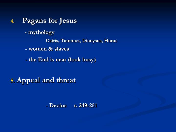 Pagans for Jesus