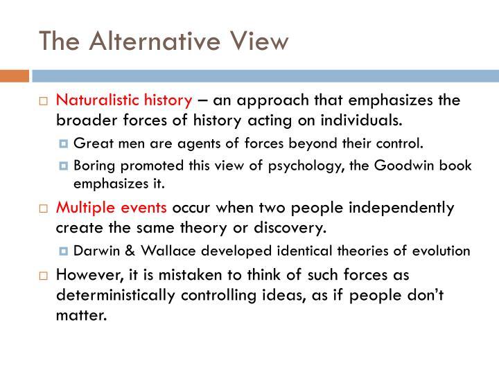The Alternative View
