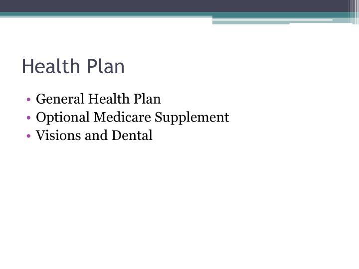 Health Plan