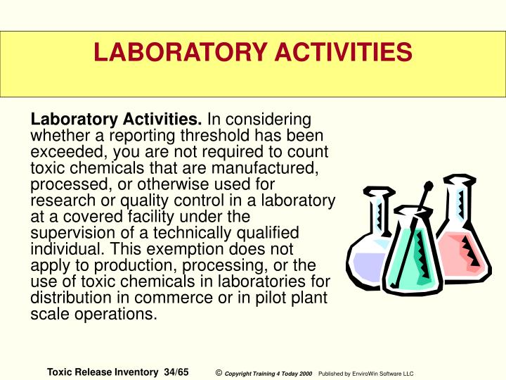 Laboratory Activities.
