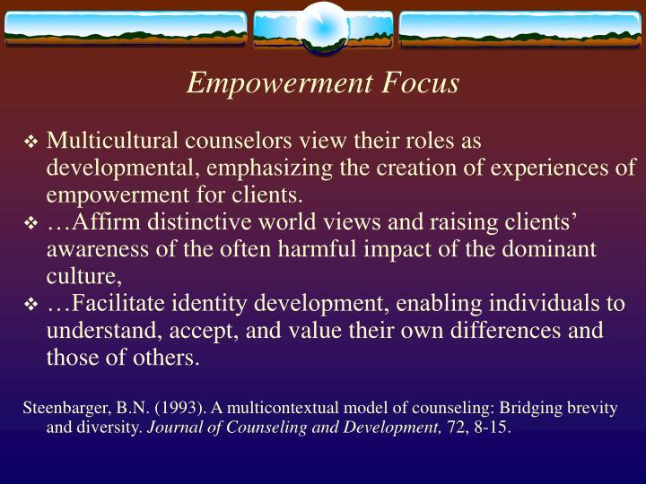 Empowerment Focus