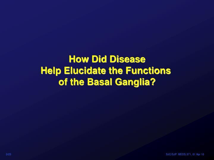How Did Disease