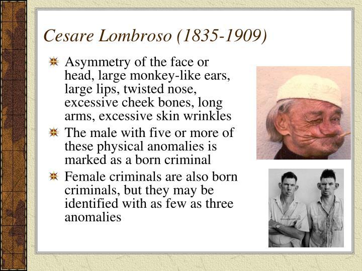 Cesare Lombroso (1835-1909)