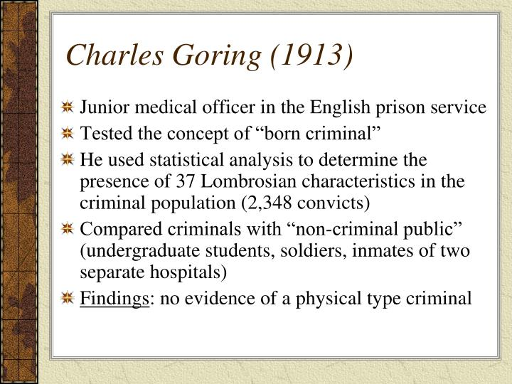 Charles Goring (1913)