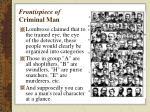 frontispiece of criminal man