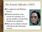 the female offender 1897
