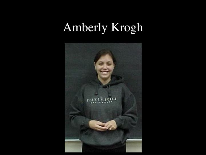 Amberly Krogh