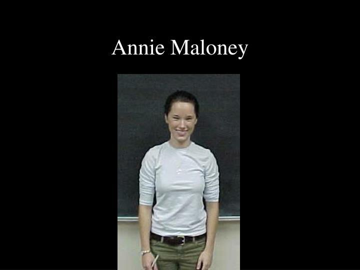 Annie Maloney