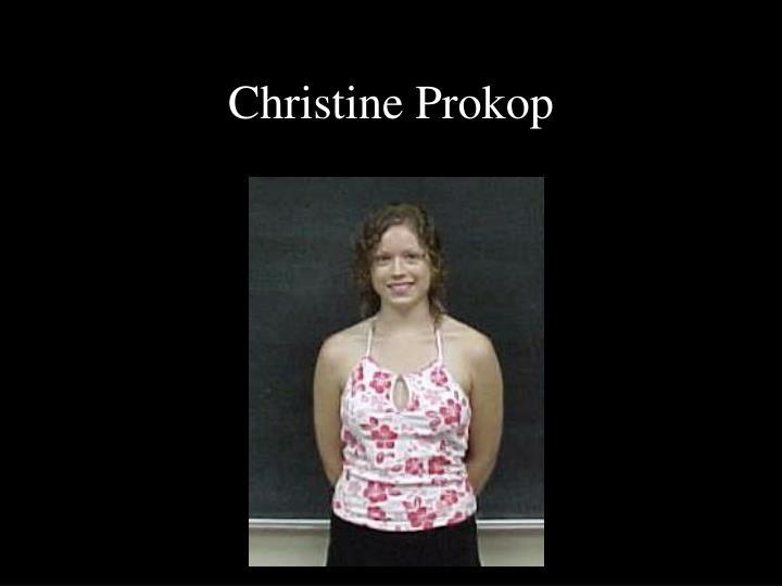 Christine Prokop