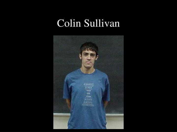 Colin Sullivan