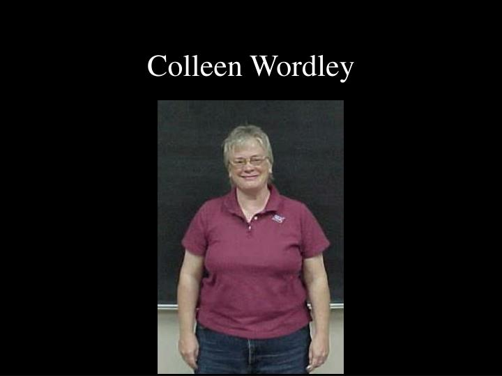 Colleen Wordley