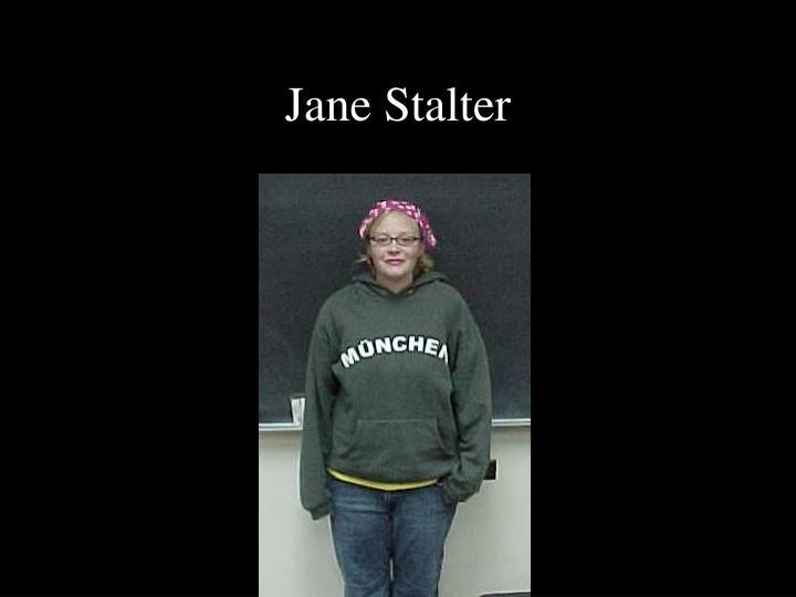 Jane Stalter