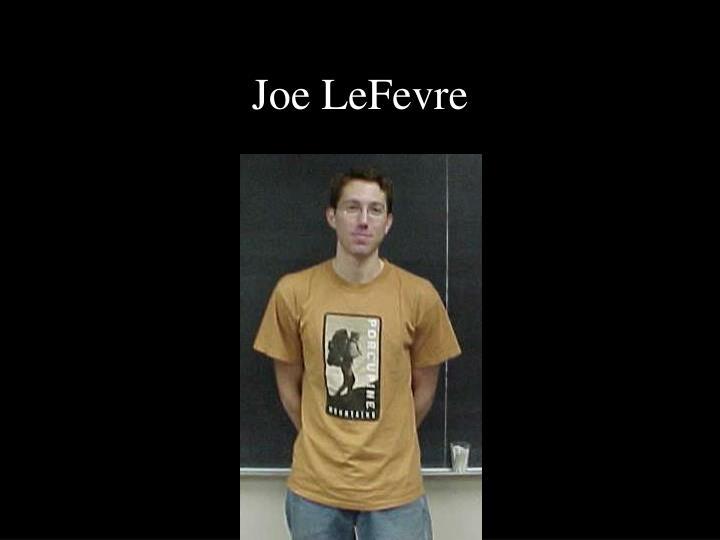 Joe LeFevre