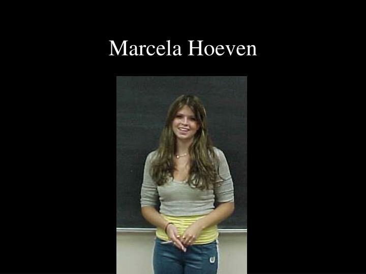 Marcela Hoeven