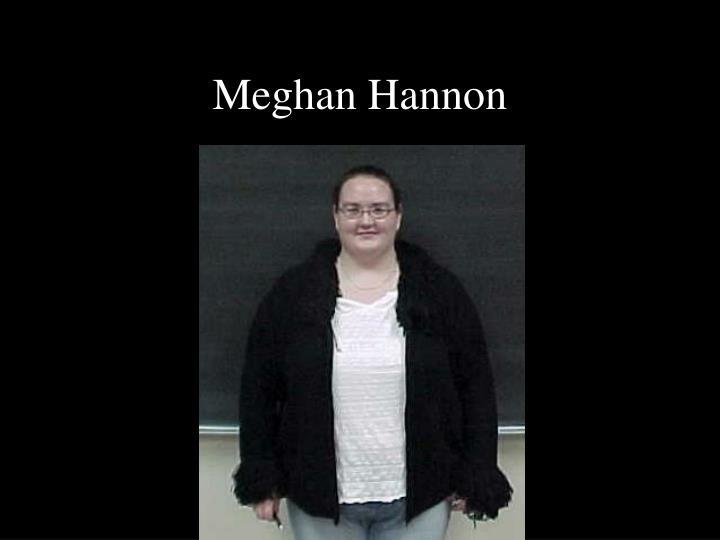 Meghan Hannon
