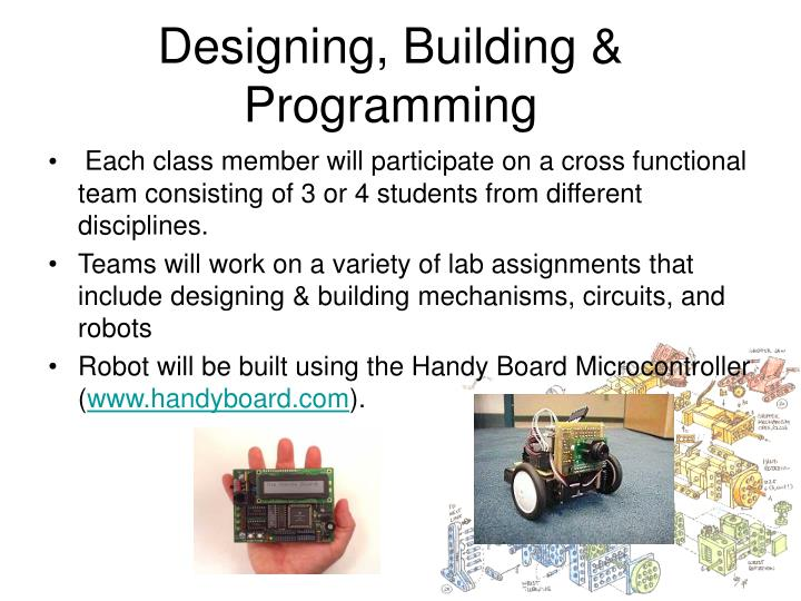 Designing, Building & Programming