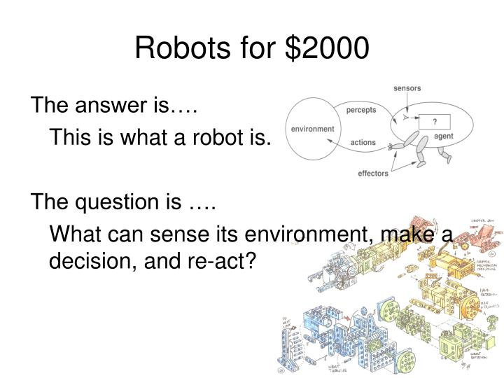 Robots for $2000