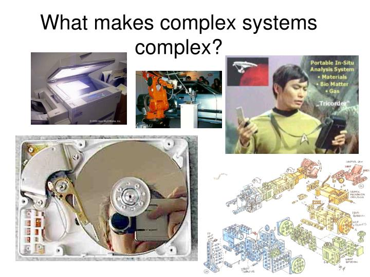 What makes complex systems complex?